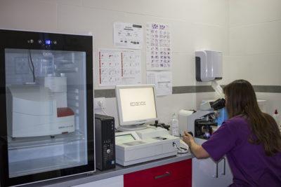 Laboratorio - Clínica Veterinaria Puerto Alto (Estepona)