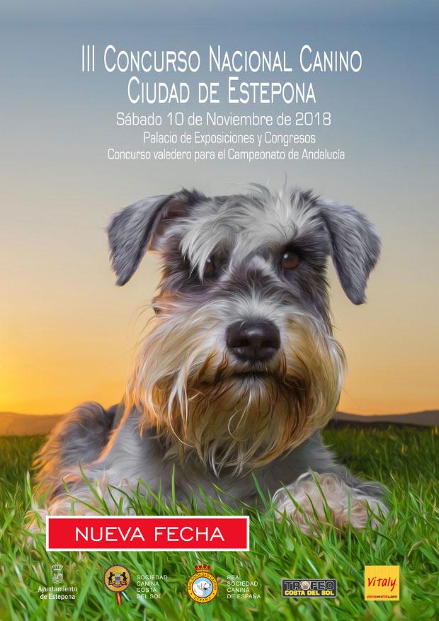 III Concurso Nacional Canino Ciudad de Estepona'18