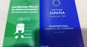 Pasaporte para mascotas